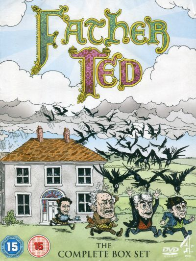 FATHER TED. COMPLETE SERIES 1-3 (1998) 4DVD