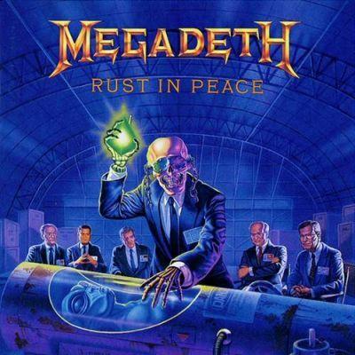 MEGADETH - RUST IN PEACE (1990) LP
