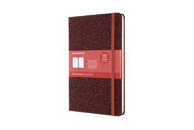 MOLESKINE NOTEBOOK BLEND 19 LARGE RULED RED