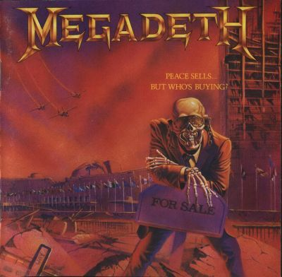 MEGADETH - PEACE SELLS BUT WHO'S BUYING (1986) LP