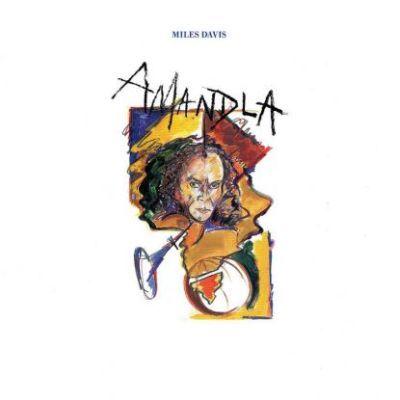 MILES DAVIS - AMANDLA (1989) LP